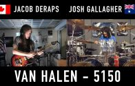 """5150"" Van Halen Cover by Jacob Deraps & Josh Gallagher"