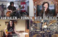 "Van Halen cover ""Runnin With The Devil"" by Jacob Deraps"