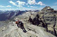 360° Climb of the Via Ferrata Route in BC's Kootenay Rockies, Canada