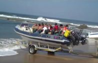 Extreme Boat Launching