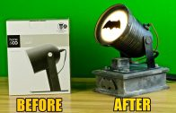 "Making an inexpensive ""Bat Signal"""