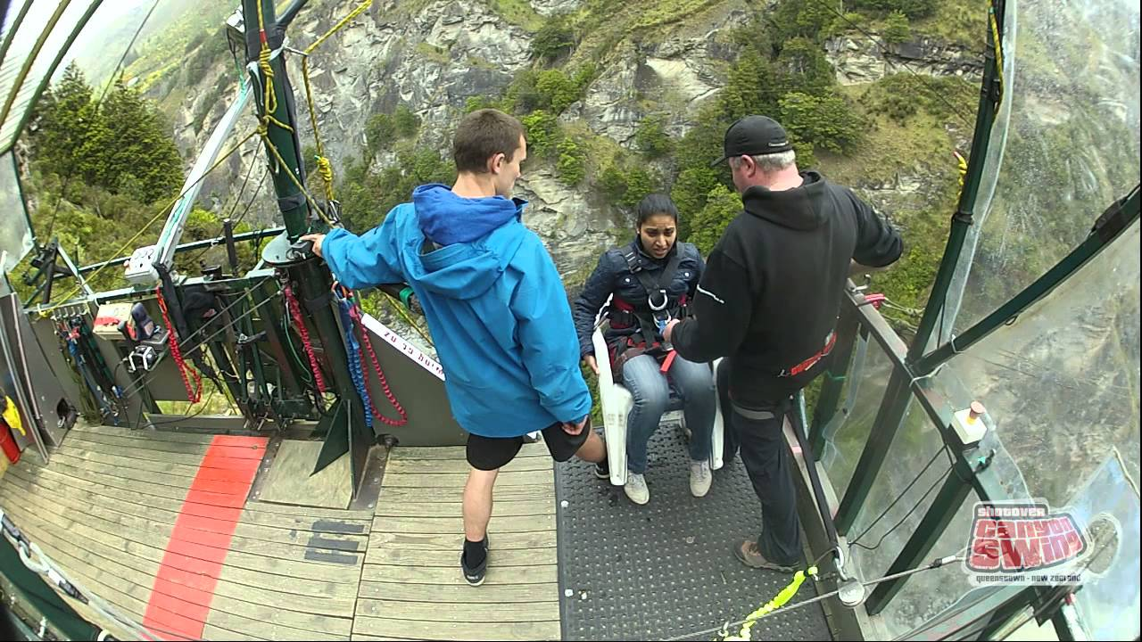 Canyon Swing Chair Queenstown New Zealand Goes To 11