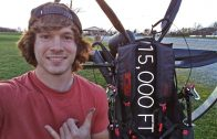 Flying To 15,000 Feet On A Paramotor