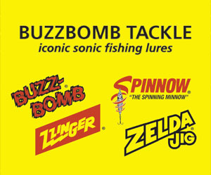 Buzz Bomb fishing lures