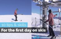 HOW TO SKI – 10 BEGINNER SKILLS FOR THE FIRST DAY SKIING