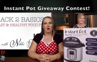 Instant Pot Contest reminder!