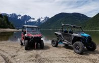 Polaris RZRs at Jones Lake, B.C.