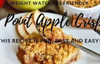 Apple Crisp – Weight Watchers Friendly || Easy Instant Pot Recipes
