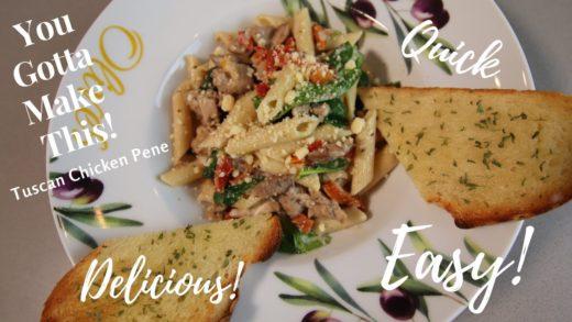 Instant Pot || Tuscan Chicken Pene