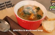 Instant Pot || Wild Rice & Mushroom Soup