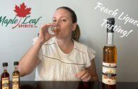 Peach Liqueur Tasting – Maple Leaf Spirits || Mama Needs A Drink S1E7