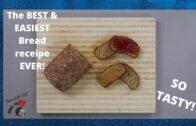 Whole Wheat Bran Bread – Non Leavening || Recipe Dash S1E4