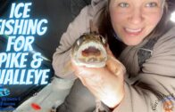 Ice Fishing for Walleye & Pike || Women's Fishing Network S1E2