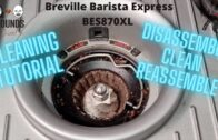 Breville Barista Express BES870XL Grinder Cleaning Tutorial || Grounds For Divorce S2E9