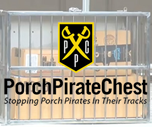 Porch Pirate Chest - banner ad