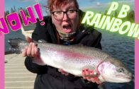 Personal Best Rainbow Trout!