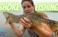 Shore Fishing For Pike!