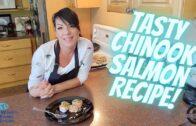 Horseradish Crusted Chinook Salmon Recipe || Women's Fishing Network S01E69