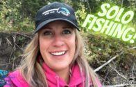 Solo Fishing The North Saskatchewan River